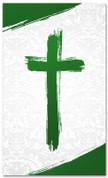 PAT033-2 Cross Brush Green