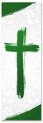 PAT033-1 Cross Brush Green