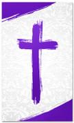 PAT034-2 Cross Brush Purple