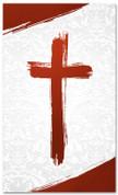 PAT035-2 Cross Brush Red