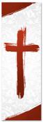 PAT035-1 Cross Brush Red