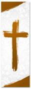 PAT036-1 Cross Brush Orange