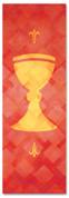 PAT040-1 Communion - Lattice Red