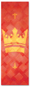 PAT042-1 Crown - Lattice Red
