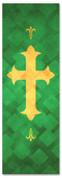 PAT048-1 Cross - Lattice Green