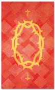PAT041-2 Thorns - Lattice Red