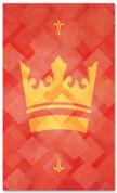 PAT042-2 Crown - Lattice Red