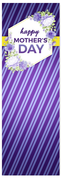 Mothers Day banner in Purple