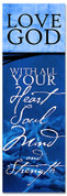 Blue Commandment Series Banner