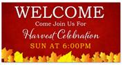 Outdoor Harvest Banner 16A