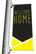 DS LIGHT POLE BANNER - Welcome Yellow Lines