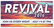 Revival 2016 sunset banner