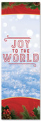 Christmas Banner  for churches - Joy to the world