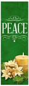 Church Christmas Banner - peace green