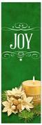 Church Christmas Banner - joy green
