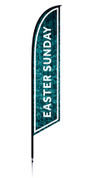 Feather - Outdoor Banner Water Easter Sunday VF