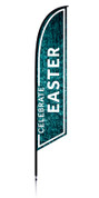 Feather - Outdoor Banner Water Celebrate Easter VF