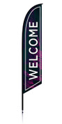Feather - Outdoor Banner Border Welcome VF