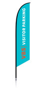 VBS Feather Generic Aqua Visitor Parking