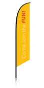 VBS Feather Generic Yellow Come Join the Fun