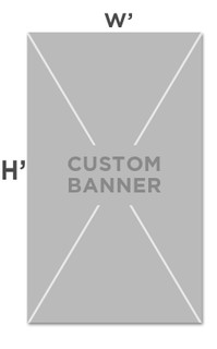 Custom Indoor Fabric Banners