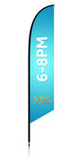 VBS Feather Light Blue - Times