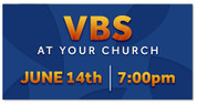 Outdoor Vinyl VBS Blue Orange