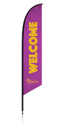 VBS Feather Purple - Welcome