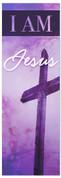 I AM 78 Jesus Purple