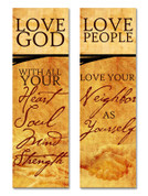 LG10 - Love God Love People (2pk)