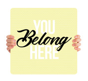 You Belong Here Yellow HH0013