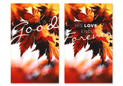 Autumn Joy Banners - HB130 Set of 2