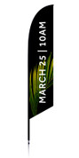 Feather flag palm sunday date