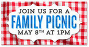 Picnic Outdoor banner