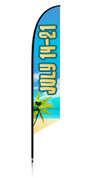 Feather flag vbs theme beach dates