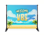 VBS Backdrop Beach Theme