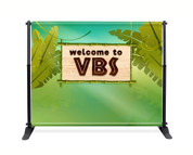 VBS Backdrop Jungle Theme