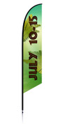 Vbs feather flag jungle theme dates