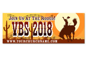 3x8 Outdoor VBS - Rodeo