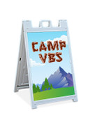 Sandwich Sign Camp VBS Theme