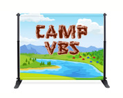VBS Backdrop Camp VBS Theme