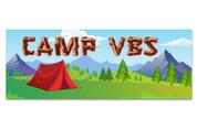 3x8 Camp VBS Theme