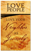 Love People Banner commandment banner