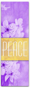 Peace Purple and Gold - SW012