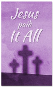 E135 Jesus Paid it all - xw