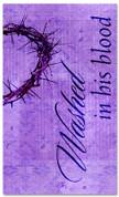 E007 Washed Purple - xw