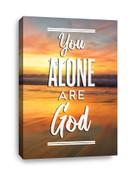 CV E332 You alone are God