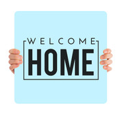 Welcome Home - Blue HHE005