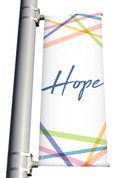 Hope Light Pole Banner