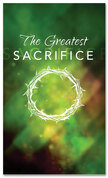 E152 Greatest Sacrifice Green - xw